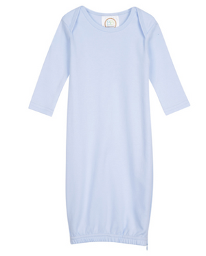 Baby Blue Knit Unisex Gown