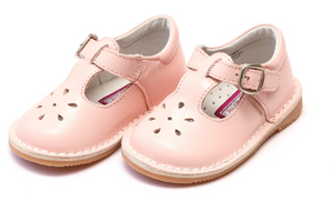 Shoes: Joy Vintage Mary Jane Shoe: Pale Pink