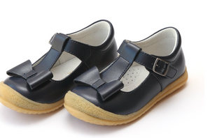 Shoes: L'Amour Navy Bow Shoes