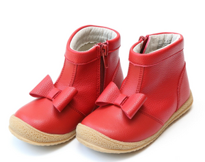 Shoes: L'Amour Red Bow Boot