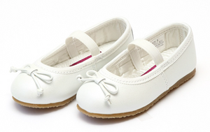 Shoes: L'Amour Prima Ballet Flat: White