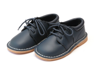 Shoes: L'Amour Tyler Boy Shoe- Navy