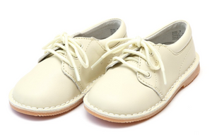 Shoes: L'Amour Tyler Boy Shoe- Ecru