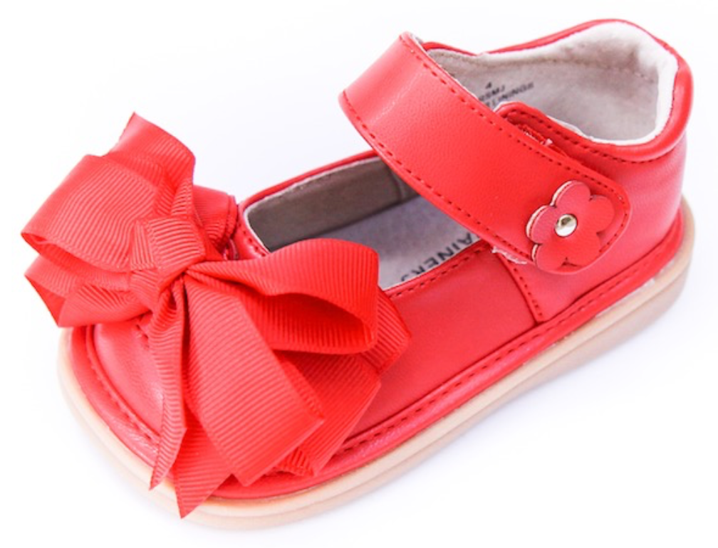 Shoes: Ready Set Mary Jane- Red