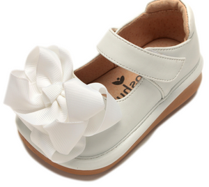 Shoes: Ready Set Mary Jane- White