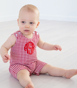 Red Gingham Shortall