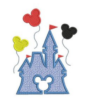 Applique: Disney Castle