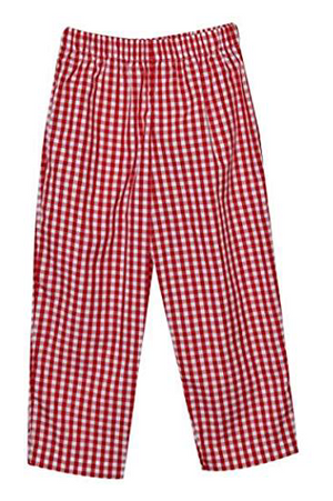 Classic Red Check Pant