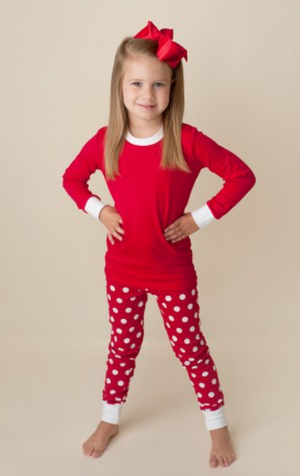 Red Dot Unisex Pajamas