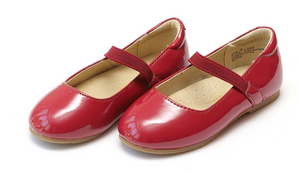 Shoes: Red Patent Ballet Flat