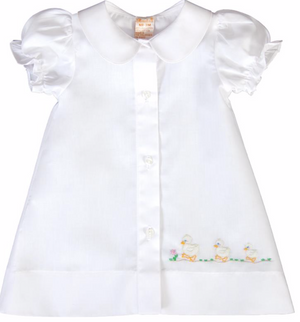 Shadow Embroidered Ducks Daygown