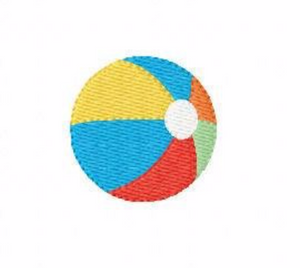 "Embroidery Add On: 2x2"" Beach Ball"