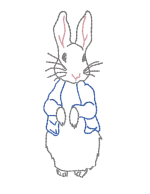 Embroidery Add On: Peter Rabbit