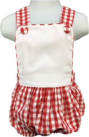 Red Check Sunsuit