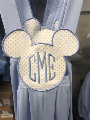 Blue Mickey Inspired Sunsuit