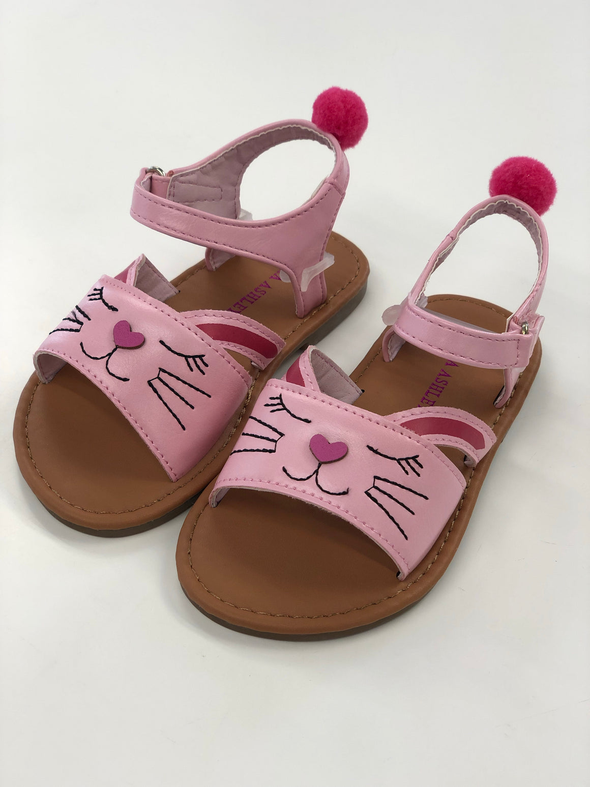Pink Rabbit Pom Pom Sandals