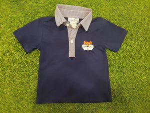 Tiger Navy Polo Shirt