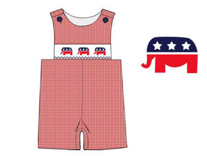 Republican Smocked Bishop Style JonJon