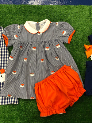 Tiger Mini Dress and Bloomer Set