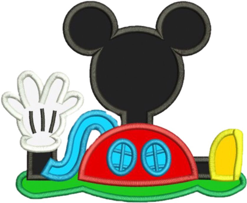 Appliqué Add On: Mickey's Clubhouse