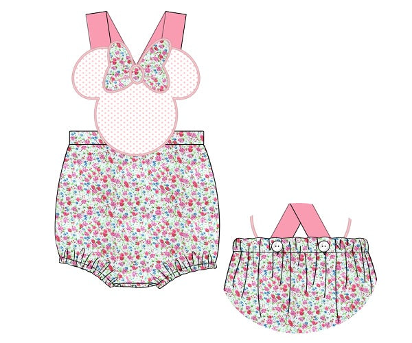 Minnie Inspired Sunsuit