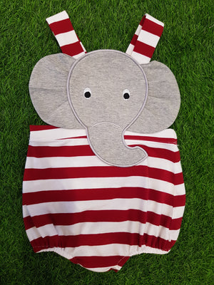 Best selling! Elephant STRIPED KNIT Sunsuit