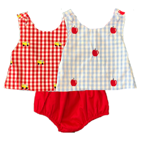 BB Collection Reversible School Diaper Set