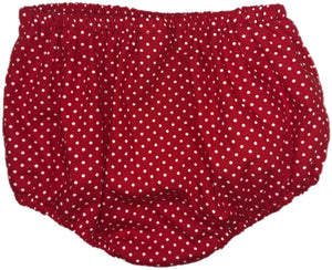 Red Dot Unisex Bloomers