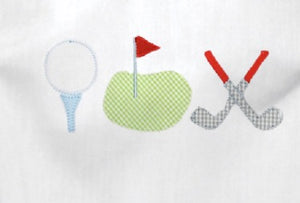 Appliqué Add On: Golf Appliqué Trio