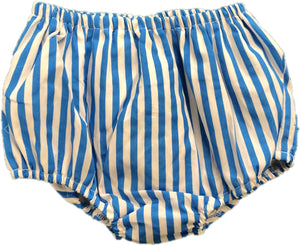 Aqua Stripe BLOOMERS ONLY