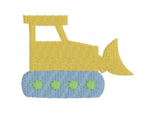 Embroidery Add On: Bulldozer