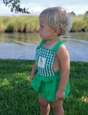 Pluto Inspired Sunsuit- in stock