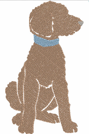 Embroidery Add On : Blue Collar Puppy