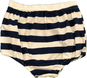 Navy Stripe Knit Bloomer