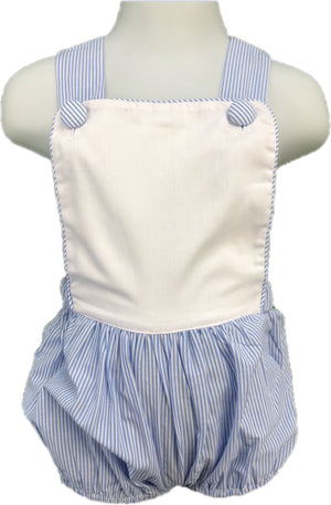 Blue Stripe Sunsuit