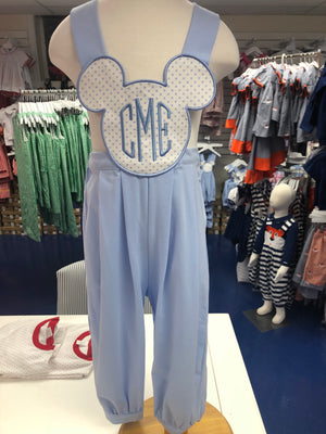 Blue Mouse Romper ONLY
