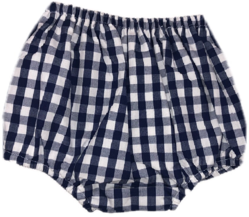 Classic Navy Gingham Bloomers (Unisex)