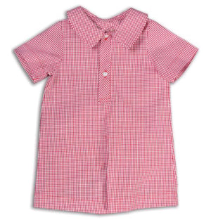 Classic Red Gingham Shortall