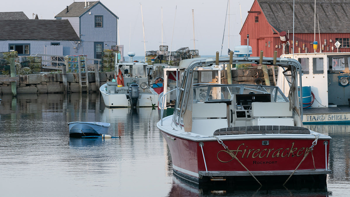 Rockport MA New England Wharf