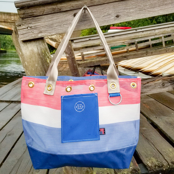 Liberty Blue Tote Bag