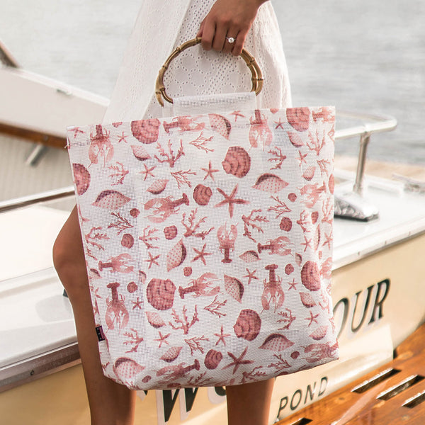 Coastal Red Tote