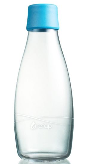 Retap 17oz. Glass Water Bottle