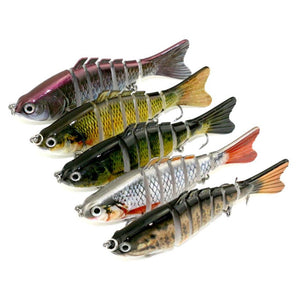 FishingLife™ 7-Segment Life-like Swimbait