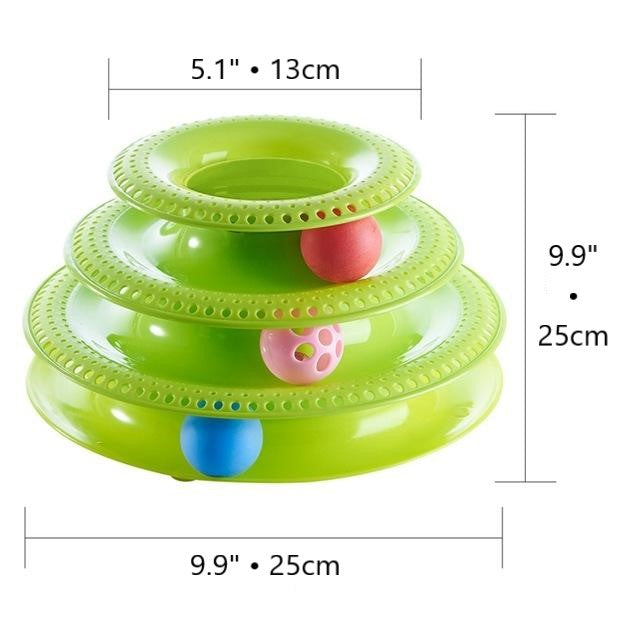 Ball Tower Cat Toy
