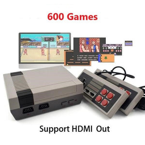 Retro Game Console w. 600 Games