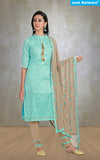 Ready-To-Wear Jharna Blue Salwar Suit