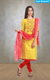 Rasna Gold Unstitched Suit Material