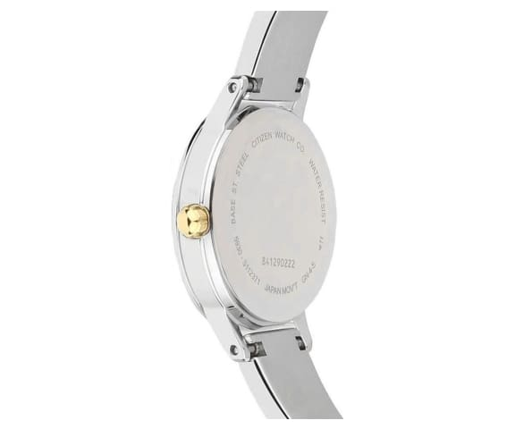 CITIZEN EJ6134-50A Quartz White Dial Stainless Steel Women's Watch