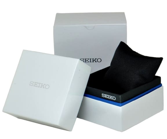SEIKO SUR213P1 Quartz Leather White Dial Mens Watch