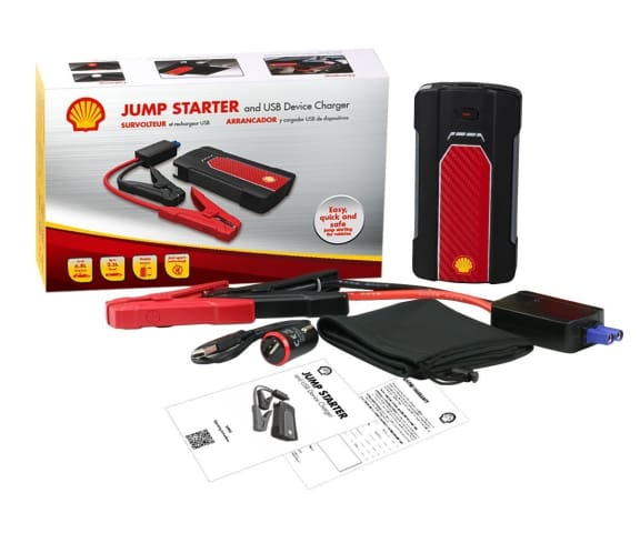Shell Jump Starter and USB Device Charger